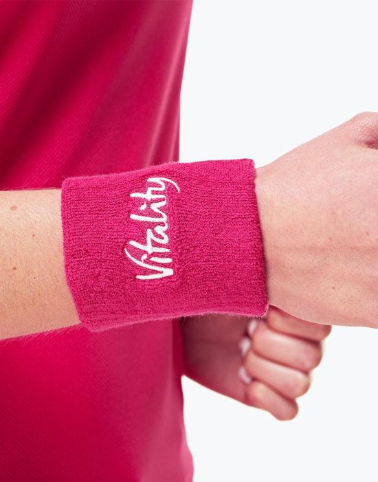 Wrist Sweatbands Pink